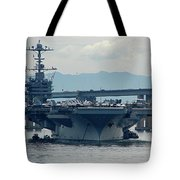 Uss George Washington Tote Bag