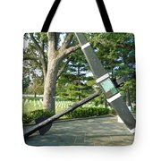 Uss Maine Anchor Tote Bag