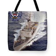 Uss Oliver Hazard Perry Tote Bag