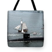 Uss Rhode Island Tote Bag