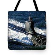 Uss Sea Wolf Tote Bag
