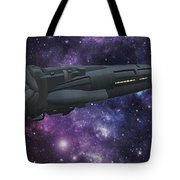 Uss Solisice Tote Bag by Don Perino