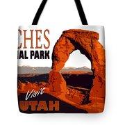 Utah, Arches, National Park Tote Bag