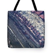 Utah Mountains High Altitiude Aerial Photo Tote Bag
