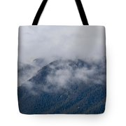 Ute Pass As Storm Clouds And Fog Roll In  Tote Bag