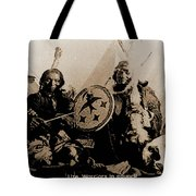 Ute Tribe In Council Tote Bag