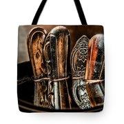 Utensils Reflected Tote Bag