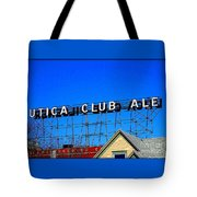 Utica Club Ale West End Brewery Tote Bag
