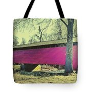 Utica Mills Covered Bridge Tote Bag