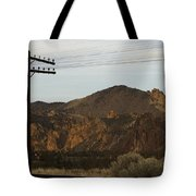 Utility Pole Tote Bag