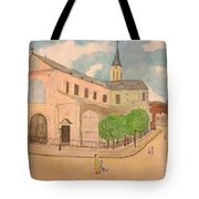 Utrillo And Church Seasonal Change In Paris By Japanese Artist Tote Bag