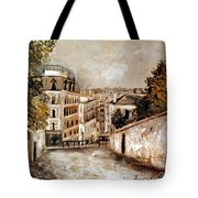 Utrillo: Montmartre, 20th C Tote Bag