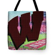 Uw Game Day Poster - Oil Tote Bag