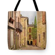 Uzes, South Of France Tote Bag