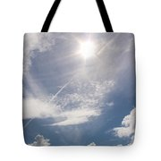 V Cloud Under The Sun  Tote Bag