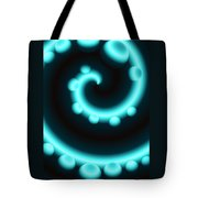 V Continuum In Blue Tote Bag