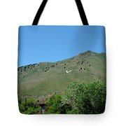 V For Virginia City Nv Mail Drop Tote Bag