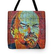 V. I. Ulyanov. Mosaic. Sochi Park. Tote Bag