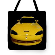 V Is For Viper Tote Bag