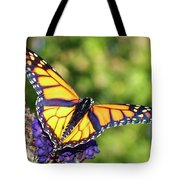 V Shaped Monarch  Tote Bag