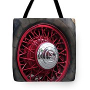 V8 Wheels Tote Bag