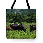 Vacas De Ahuachapan 2 Tote Bag