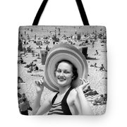 Vacation Montage, C.1930s Tote Bag