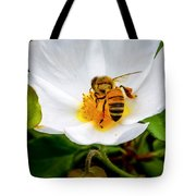 Vacaville Honey Bee Tote Bag