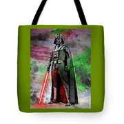 Vader Abstract Tote Bag