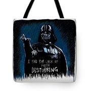 Vader Tote Bag by Antonio Romero
