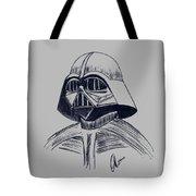Vader Sketch Tote Bag