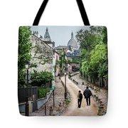 Vagabonds In France Book Cover Tote Bag
