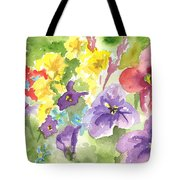 Vail Flowers Tote Bag