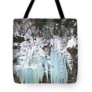Vail Ice Falls Tote Bag