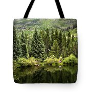 Vail Reflections In The Summer Tote Bag