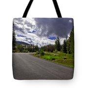 Vail Road Tote Bag