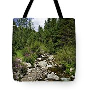 Vail Stream In The Summer 2 Tote Bag