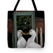 Vain Duck Tote Bag