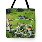 Val Poschiavo From The Bernina Express Switzerland Tote Bag