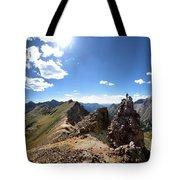Valecito And Chicago Basins From Mt Jupiter - Weminuche Wilderness - Colorado Tote Bag