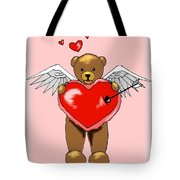 Valentine Bear Tote Bag