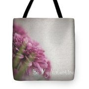 Valentine Flowers Tote Bag