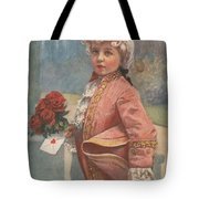 Valentine In The Victorian Era Tote Bag
