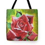 Valentine Rose  Tote Bag
