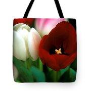 Valentine Tulips Tote Bag
