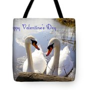 Valentine's Day Greeting Tote Bag