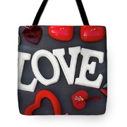 Valentines Day Hearts Tote Bag