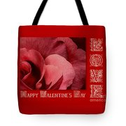 Valentines Day Love Tote Bag