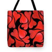 Valentines Hearts Tote Bag