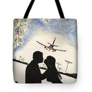 Valentine Kiss Tote Bag